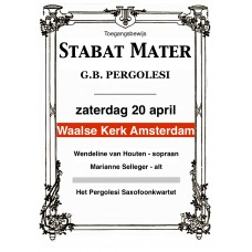 Entreebewijs Stabat Mater Amsterdam