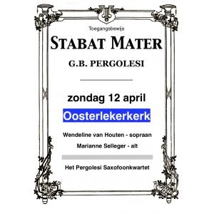 Entreebewijs Stabat Mater Oosterleek
